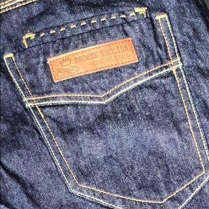 Broken English Men's Genuine Brand Jeans